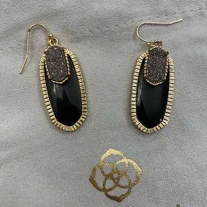 Kendra Scott Earrings   black + drusy